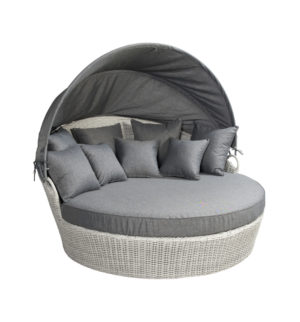 Beach 7 Loungebed Coobowie Multi Grey