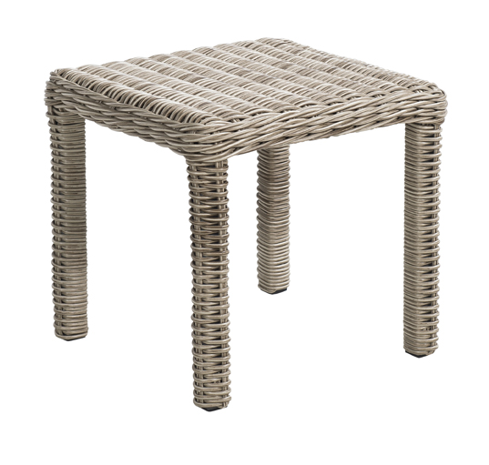Mundo side table 45x45cm Cheetah