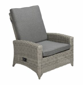 Beach 7 Adelaide Verstelbare Loungechair Cloudy Grey