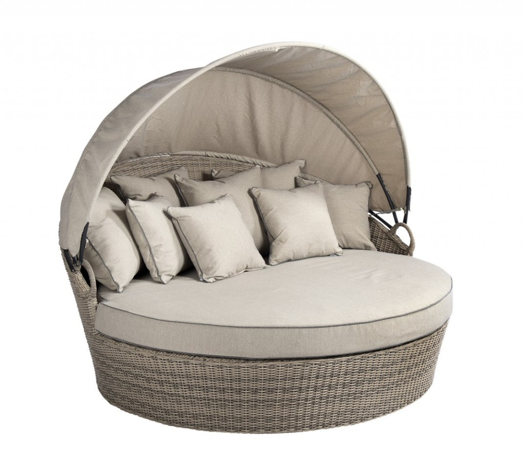Beach 7 Coobowie Bed Sofa Corn 181 cm Rond