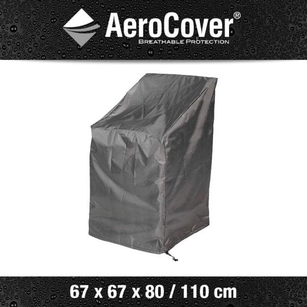 Aerocover stapelstoel hoes 67x67x80 cm