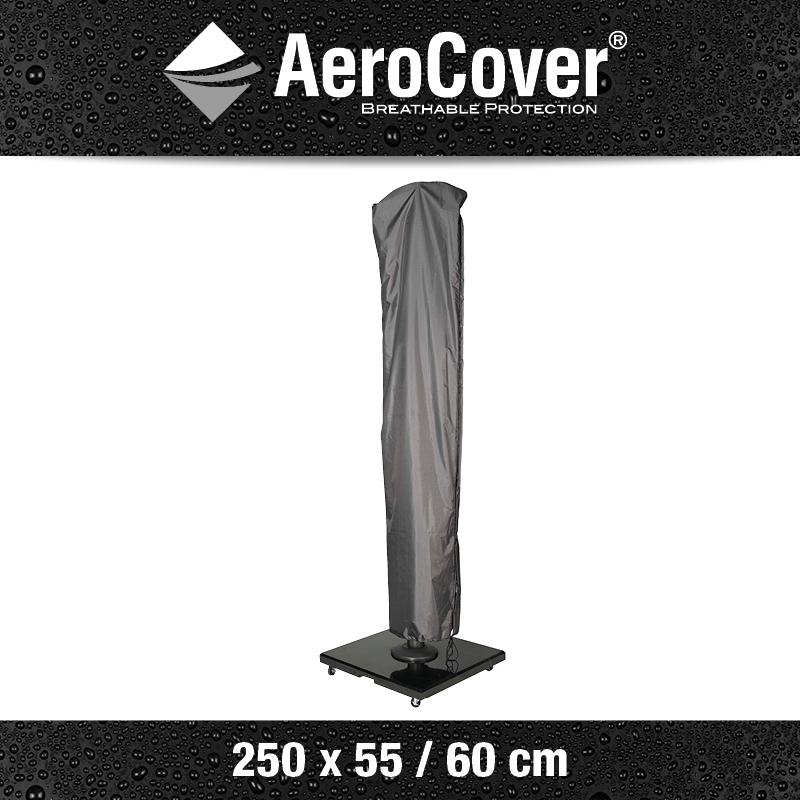 Aerocover Free-Pole Beschermhoes Parasol 250x55-60 cm