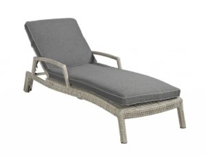 Darwin lounger +armrest Beach 7 Down Under kleur: Cloudy Grey