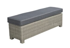 Beach 7 Birdwood Sportbench 140x40cm Cloudy Grey