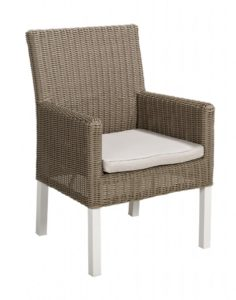 Havanna diningchair Beach 7 Club Collection Cappuccino 4 stuks!