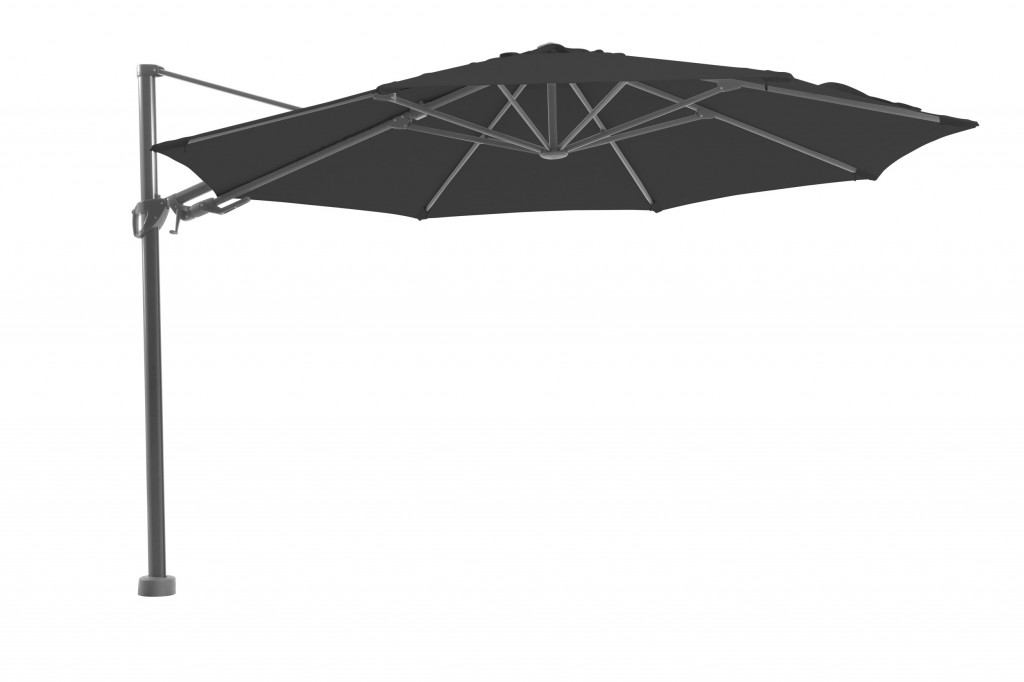 Beach 7 Parasol Kos Freepole 350 cm Dark Grey
