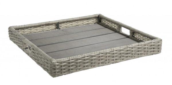 Dienblad vierkant 64x64cm kleur: Cloudy Grey