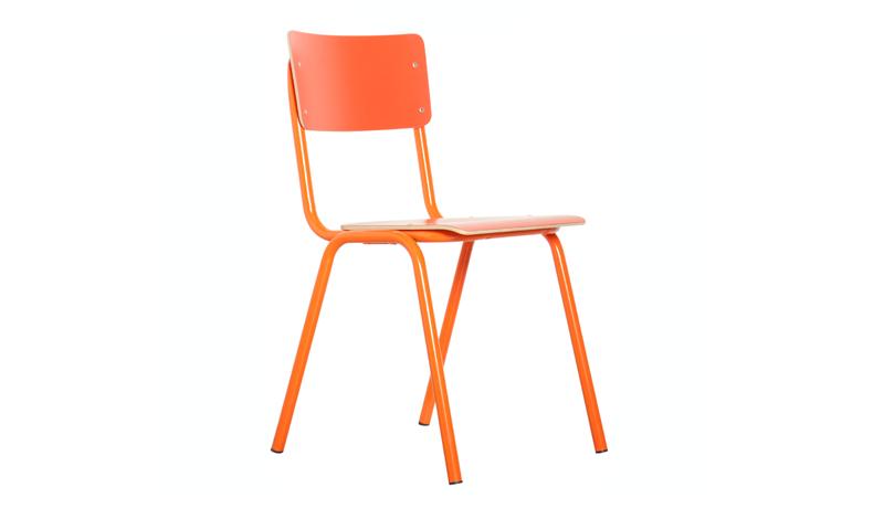 Back to School eetkamerstoel ZUIVER - oranje