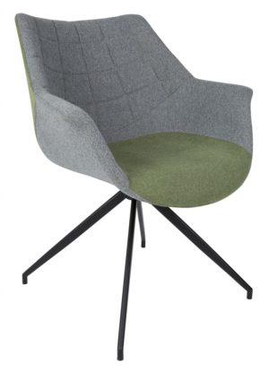 Doulton chair ZUIVER - groen