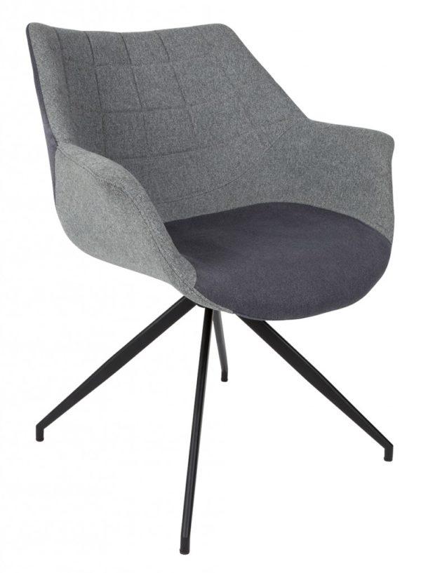 Doulton chair ZUIVER - grijs