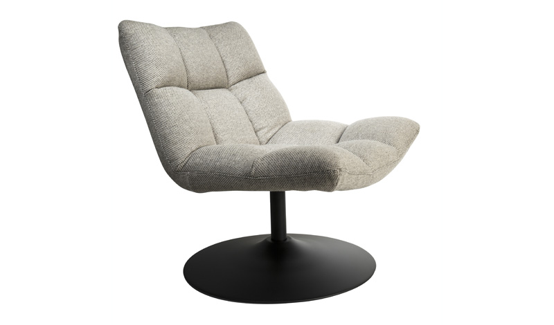 Bar Lounge Chair Dutchbone  Light Grey