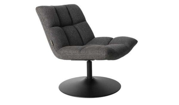 Bar Lounge Chair Dutchbone - Dark grey