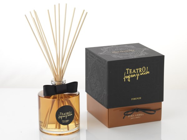 Teatro Fragranze difuser 100ml incl stokjes Amber