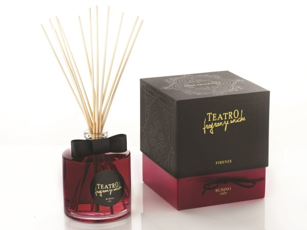 Teatro Fragranze difuser 100ml incl stokjes Ruby