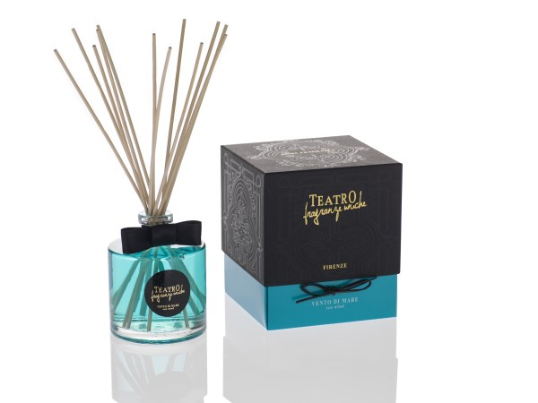 Teatro Fragranze difuser 100ml incl stokjes Sea Wind