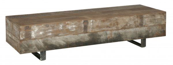 Salontafel Block rectangular - 125 cm breed
