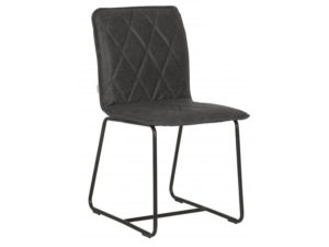 D-Bodhi Diningstoel Mersey Recycled Leather Black