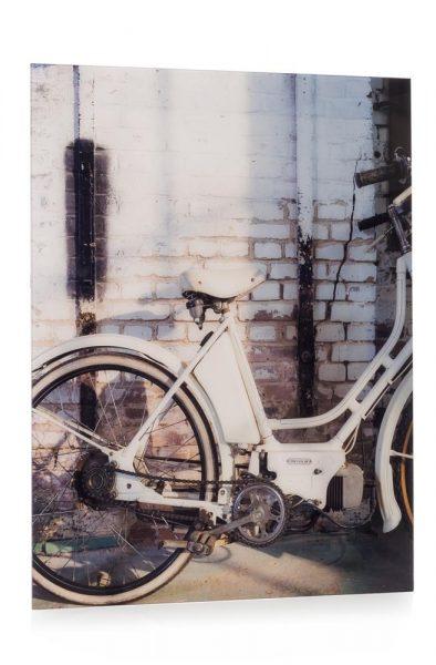 Youniq foto Op Acryl Old Bike 80 X 100 cm