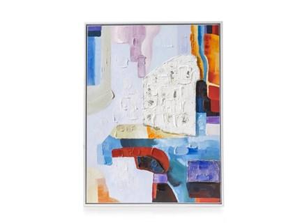 Youniq Schilderij Abstract Mind 90 X 120 Cm