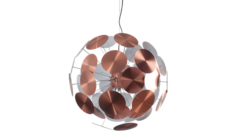 Plenty work hanglamp ZUIVER - copper