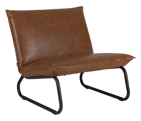 D-Bohdi Yarra Fauteuil Recycled Leather Cognac