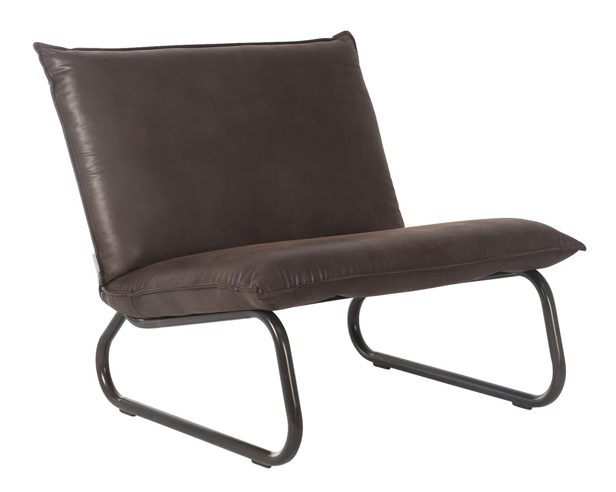 D-Bodhy Fauteuil Yarra Reclycled Leather Brown