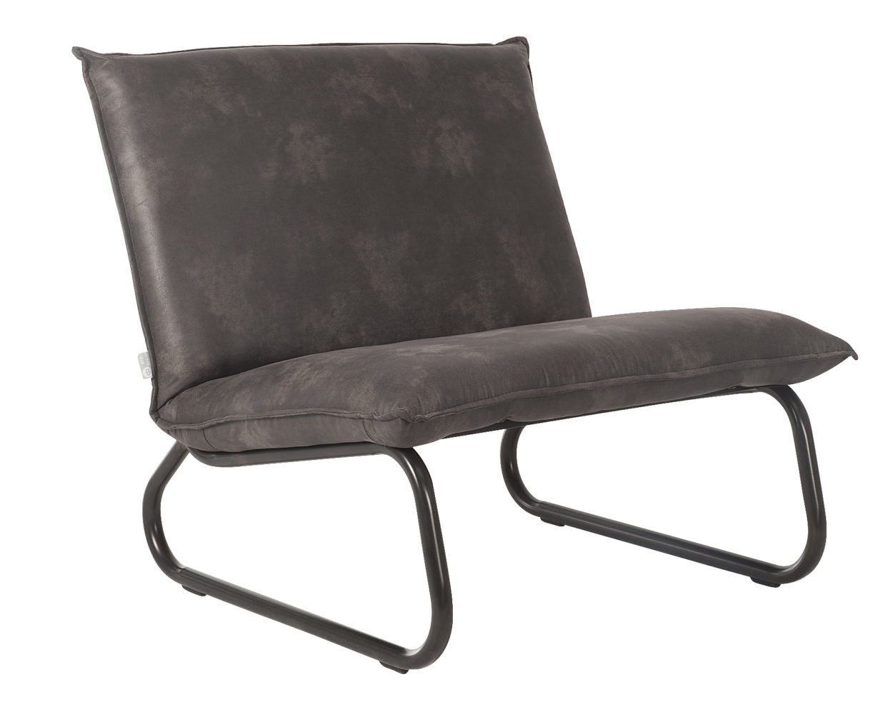 D-Bohdi Yarra Fauteuil Recycled Leather Grey
