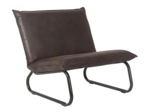 Yarra fauteuil - Reclycled leather Brown