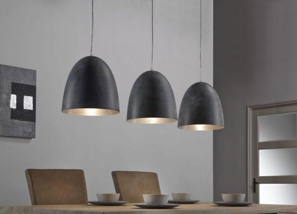 Hanglamp 3L Industry grijs