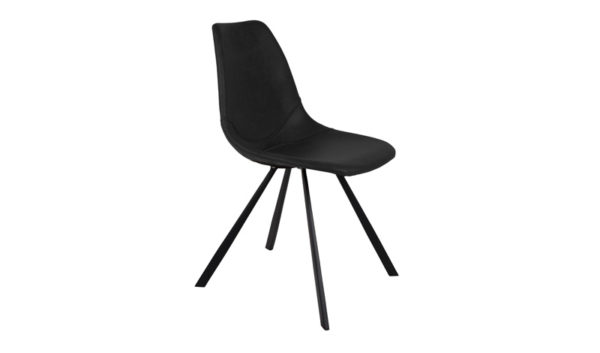 Chair Franky black - Dutchbone