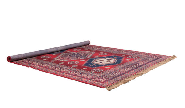 Carpet Jar 170 x 240 cm Old Red Dutchbone
