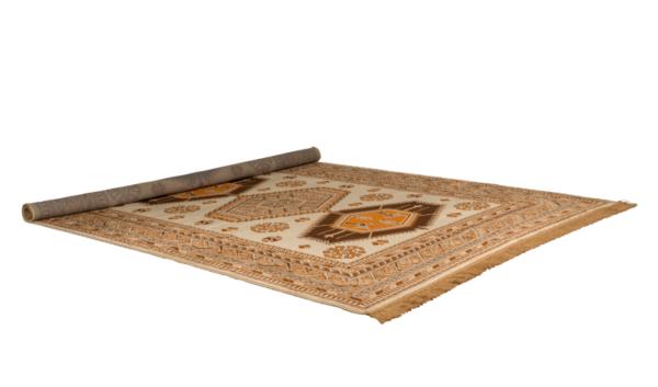 Carpet Jar 200 x 300 cm Golden Brown Dutchbone