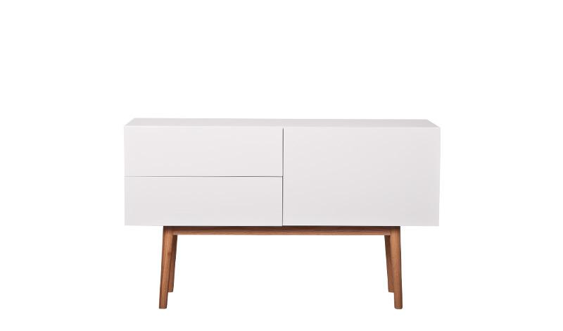 Cabinet High on Wood Zuiver - 2 laden + 1 deur