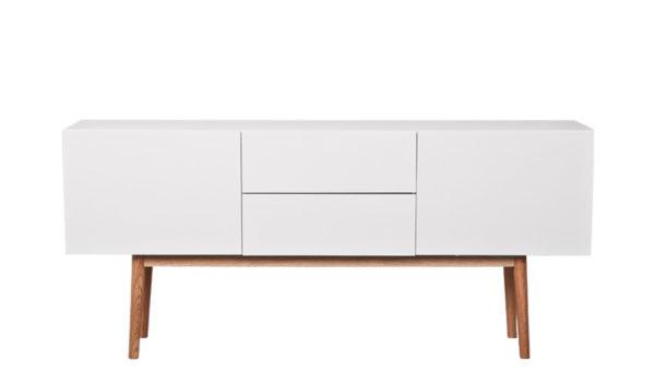 Cabinet High on Wood Zuiver 2 laden + 2 deuren