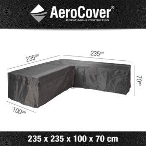 Aerocover Loungesethoes L-shape 235x235x100x70 7940