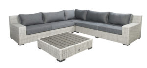 Beach 7 Loungeset Coral Bay 300x300 cm Multi Grey