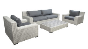 Beach 7 Lounge SofaSet Coral Bay Multi Grey