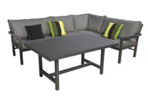 Beach 7 Lounge-Diningset Orchid Aluminium