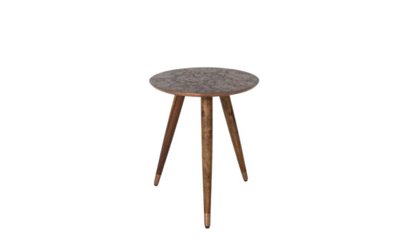 Bast sidetable Dutchbone - Copper