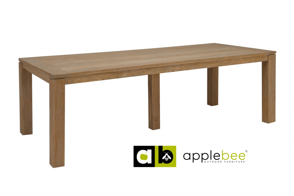 Apple Bee Tuintafel Oxford 396x100 cm Teak