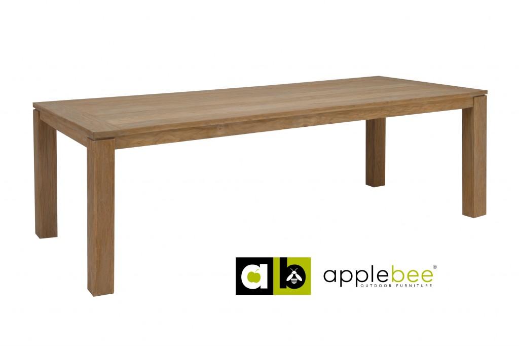 Apple Bee Tuintafel Oxford 240x100 cm Teak