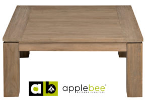 Apple Bee Salontafel Oxford 90x90 cm Teak