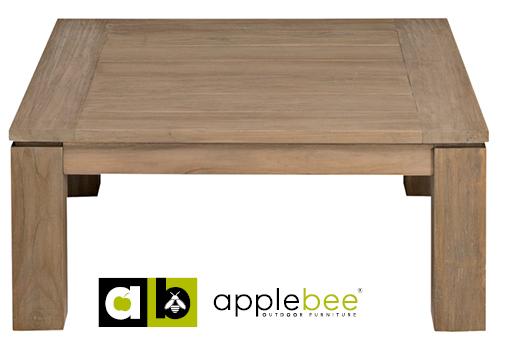 Apple Bee Salontafel Oxford 90x90 cm Teak