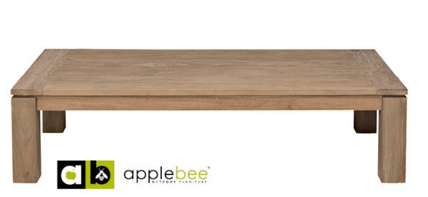 Apple Bee Koffietafel Oxford 160x80 cm Teak