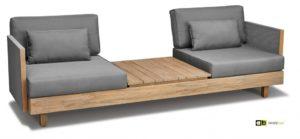Apple Bee Loungeset Module X Sofa Teak
