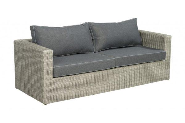 Beach 7 Lounge sofa Sydney Cloudy Grey Wicker