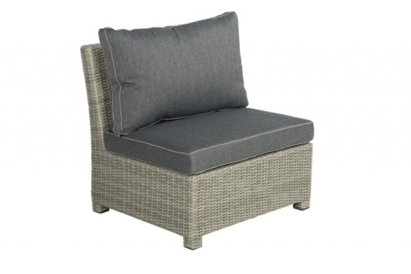 Birdwood Center-part 82 cm Cloudy Grey wicker