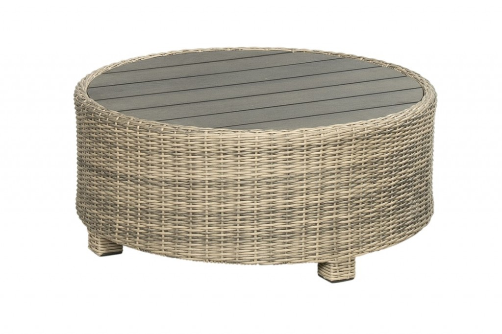 Beach 7 Birdwood Footstool 86 cm Corn Wicker
