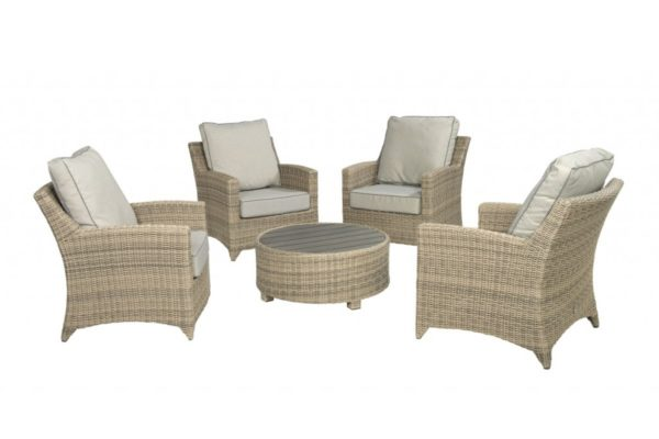 Beach 7 Loveday Loungeset 5-delig Corn