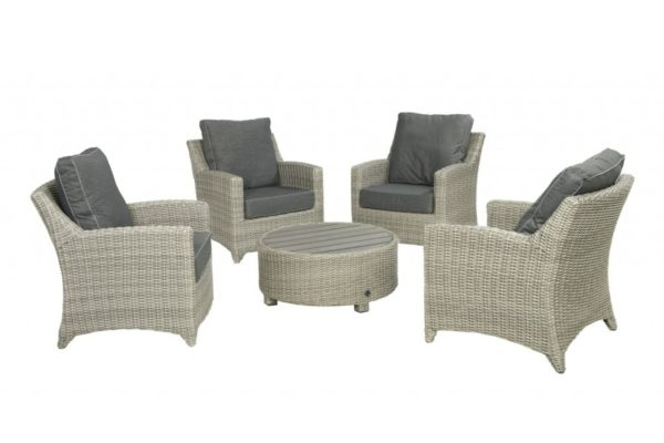 Beach 7 Loveday Loungeset 5-delig Cloudy Grey